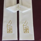 Pax Candle Budget Clergy Stole