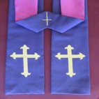 Gothic Cross Budget Clergy Stole