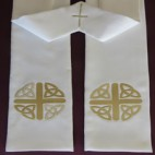 Celtic Knot Budget Clergy Stole