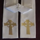 Celtic Cross Budget Clergy Stole