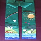 Garden of Eden Clergy Stole