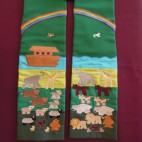 Noahs Ark Clergy Stole