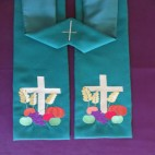 Harvest Clergy Stole