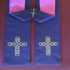 Tracery Cross Clergy Stole