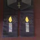 Candle Clergy Stole