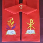 Saviour Peace and Holy Spirit Clergy Stole