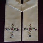 Musical Cross Clergy Stole