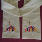 Ascension Scene Clergy Stole