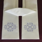 Dove Cross Clergy Stole