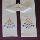 Tree of Life Clergy Stole