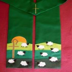 The Lord is my Shepherd Clergy Stole
